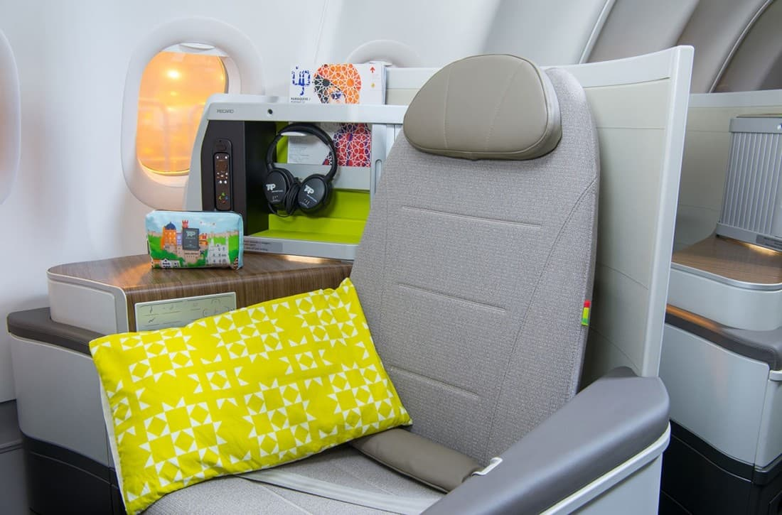 TAP Business Class Sitz Airbus A330 Neo