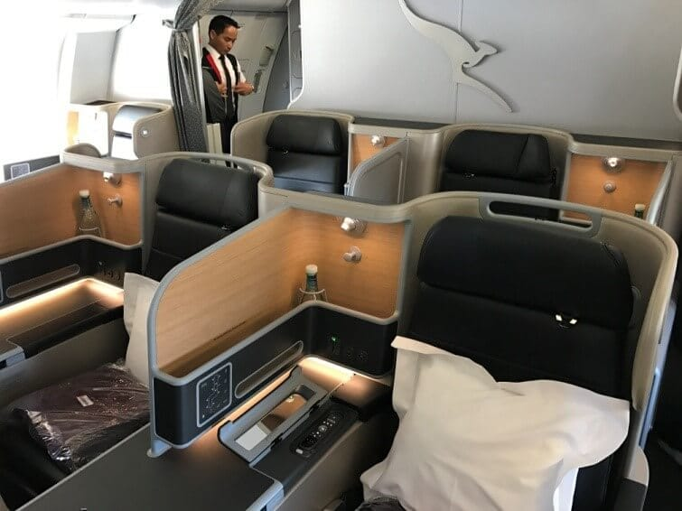 Qantas Airbus A330-200 Business Suite